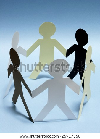 Human coexistence - stock photo