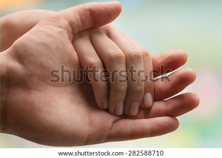 Human Hand, Care, Consoling.