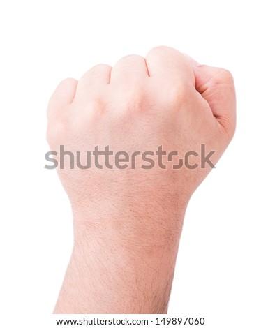 human hand isolated  - stock photo