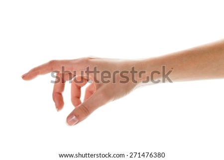 Human Hand, Reaching, Human Arm.