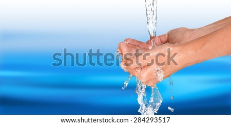 Human Hand, Washing Hands, Washing.