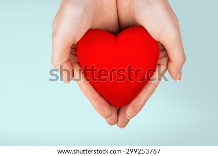 Human Heart, Human Hand, Giving.