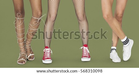Human Legs Shoes Sneakers Team Togetherness Studio