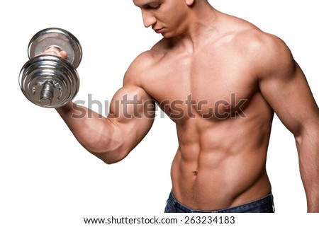 model search - stock photos, images & pictures - shutterstock, Muscles