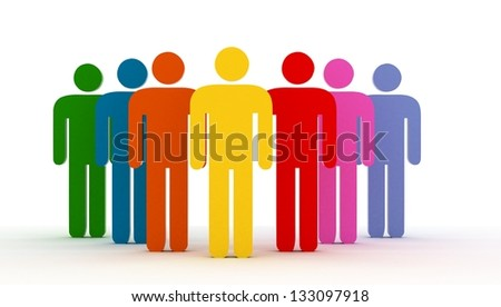 Human Resources - stock photo