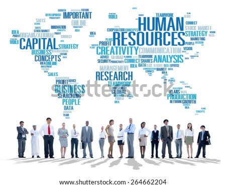 Human Resources Career Jobs Occupation Employment Concept - stock photo