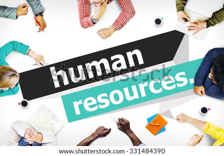 Human Resources Employment Job Recruitment Concept - stock photo