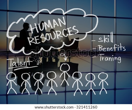 Human Resources Hiring Job Occupation Concept - stock photo
