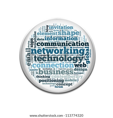 human resources info-text graphics and arrangement concept on white background (word cloud) - stock photo