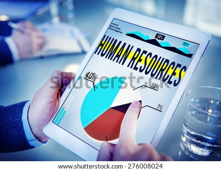 Human Resources Recruitment Career Job Hiring Concept - stock photo