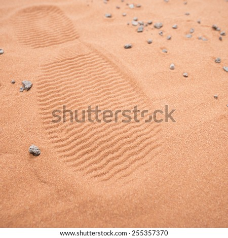 humans living on mars in the future - stock photo
