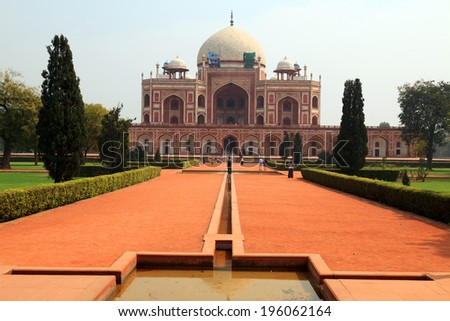Humayun Mausoleum, India - stock photo