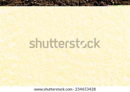 humus soil - stock photo