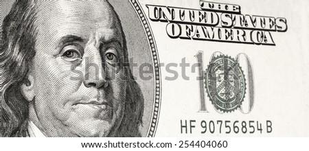 Hundred Bucks - stock photo