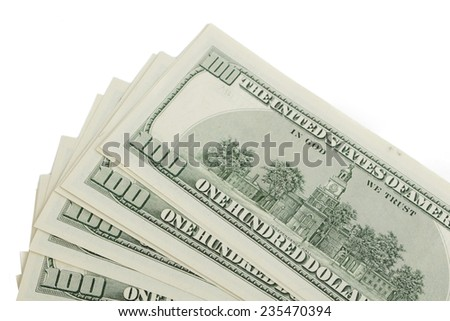 hundred-dollar bills