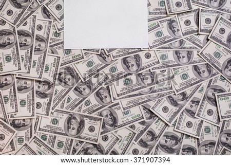 hundred dollar bills front side. background of dollars, old hundred-dollar bil face, motivation, success, you can be rich copyspace, a place for an inscription, money background,  place for text - stock photo