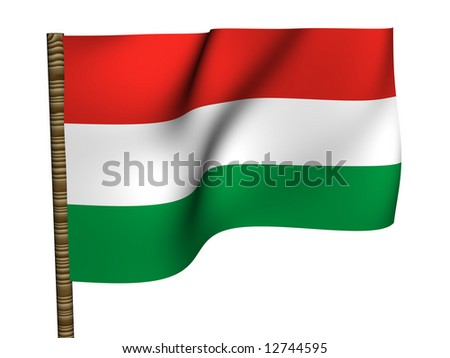 Hungary. National Flag