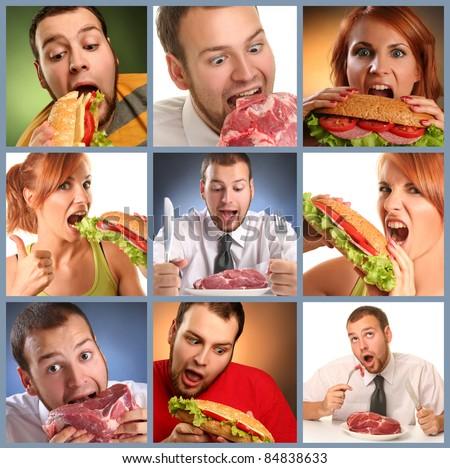 hunger - stock photo