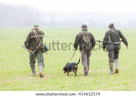 hunters at hunt