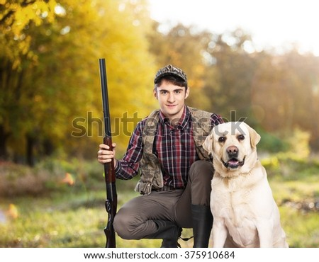 Hunting. - stock photo