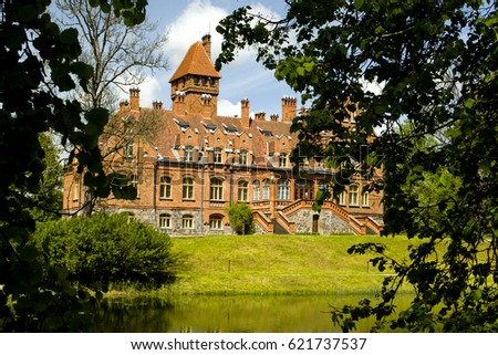 Hunting House is a typical example of architecture for the Baltic countries.  The hunting house was primarily used to host family in summer and autumn