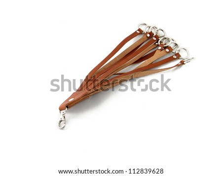 Hunting traditional leather accessory - stock photo