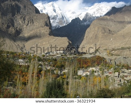 Hunza, Pakistan - stock photo