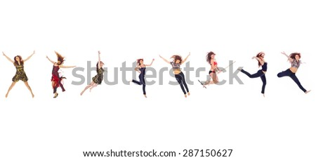Hurray to Athlets Jumping CONCEPT