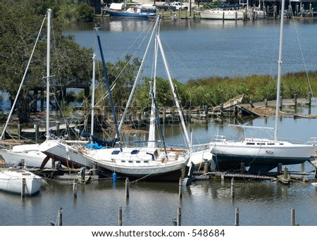 Hurricane Katrina 34 - stock photo