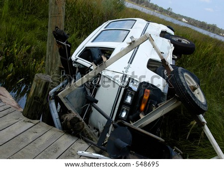 Hurricane Katrina 26 - stock photo