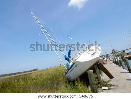 Hurricane Katrina 24 - stock photo