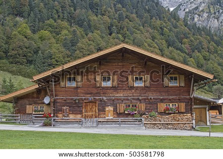 Hut idyll in Eng in Tirol