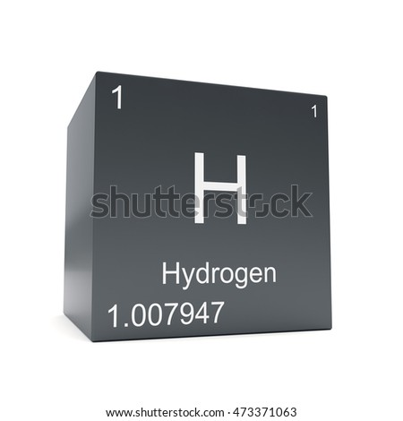 Hydrogen chemical element symbol periodic table stock illustration hydrogen chemical element symbol from the periodic table displayed on black cube 3d render urtaz Choice Image