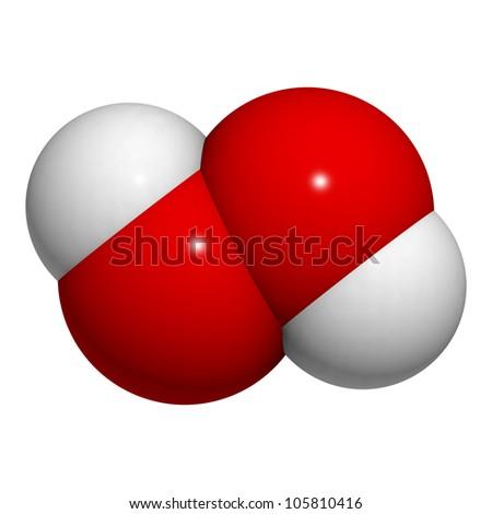Hydrogen Peroxide Molecule Engneforic