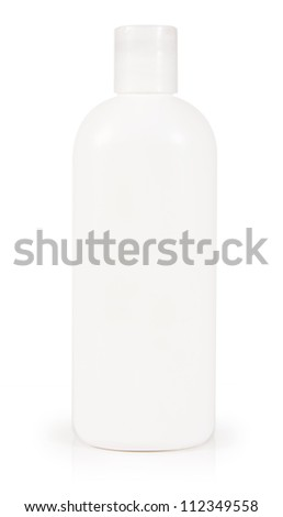 Hygienic container isolated on white background