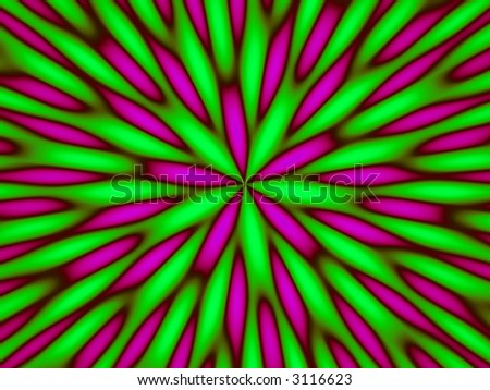 hypnotic abstract pattern