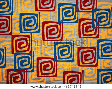 hypnotizing abstract background - stock photo