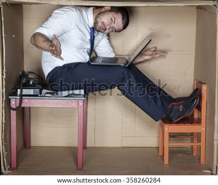 I can not find my place - stock photo
