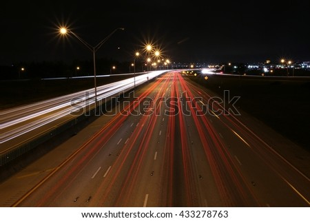 I-95 Facing North Night