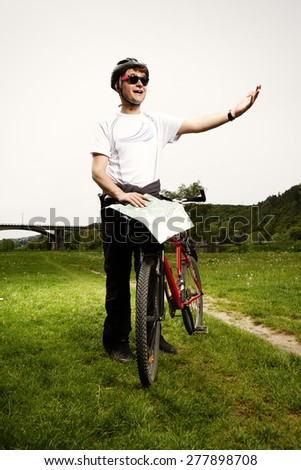 I have to go this way - stock photo