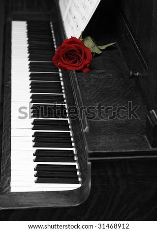 I Love Music - stock photo