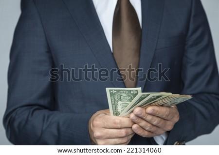 I'm so rich - stock photo
