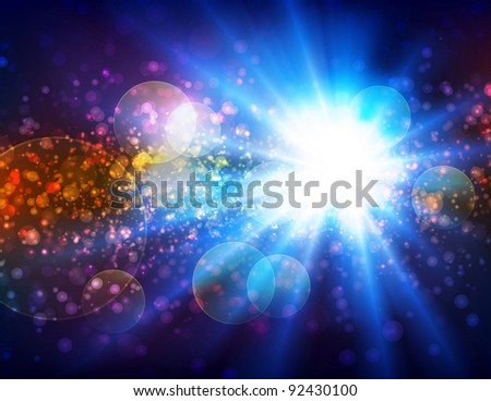 I see the light, raster - stock photo