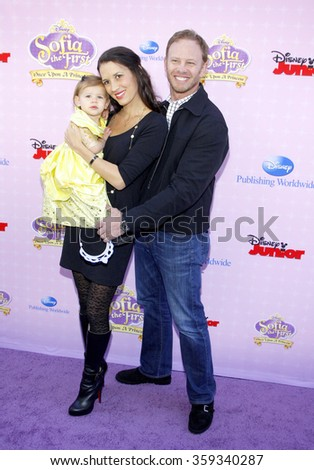 "Ian Ziering at the Los Angeles premiere of ""Sofia the First: Once Upon a Princess"" held at the Disney Studios in Los Angeles, United States on November 10, 2012."