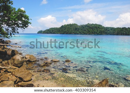 Ibioh beach on Pulau Weh Island