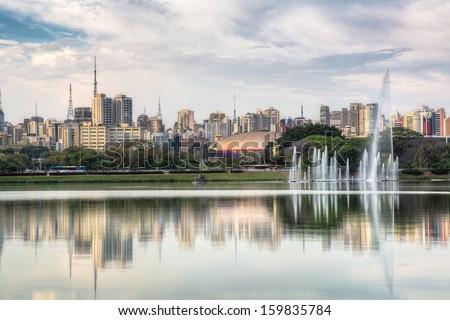 Ibirapuera Park - Sao Paulo - Brazil. - stock photo