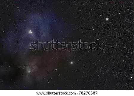 IC 6404, The Rho Ophiuchi Nebula - stock photo