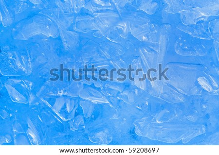 ice abstract textured background - stock photo