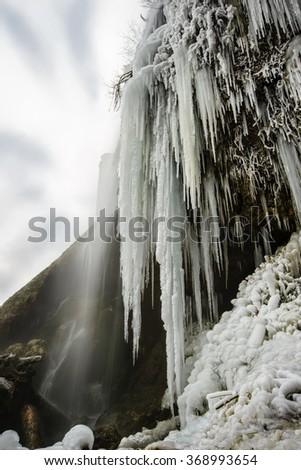 ice age - stock photo