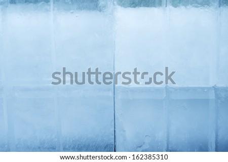 ice brick - stock photo